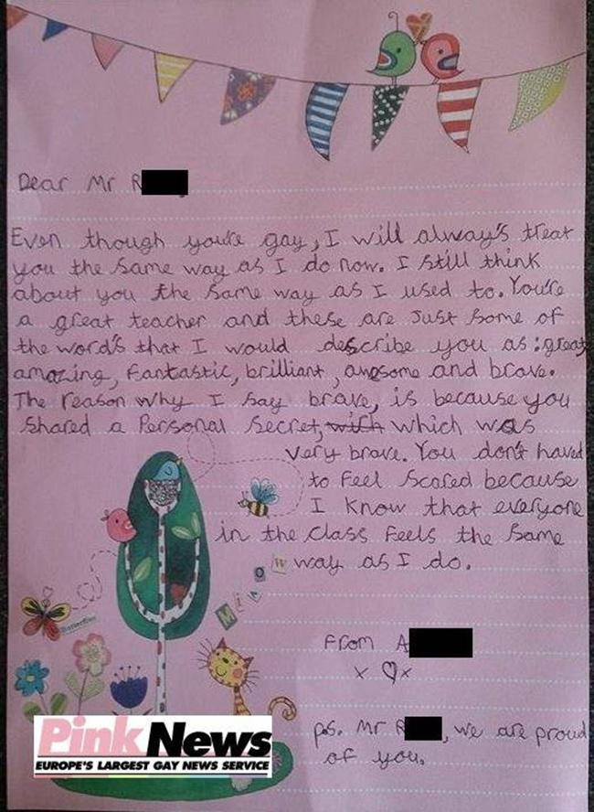 Mengharukan Gadis 9 Tahun Tulis Surat Dukungan Untuk