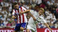 Koke dan Luka Modric (GERARD JULIEN / AFP)