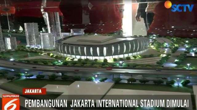 Menelan biaya sekitar Rp 5 triliun, stadion ini akan diselesaikan dalam waktu 2,5 tahun.