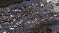 Badai Matthew kian memperburuk kondisi hidup warga Haiti, yang belum lagi pulih dari dampak gempa 2010 lalu (Reuters)