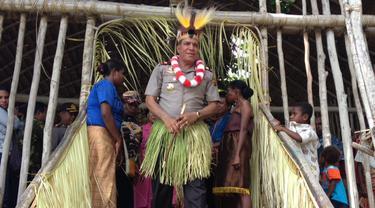 Kapolda Papua Barat Brigjen Pol Paulus Waterpauw