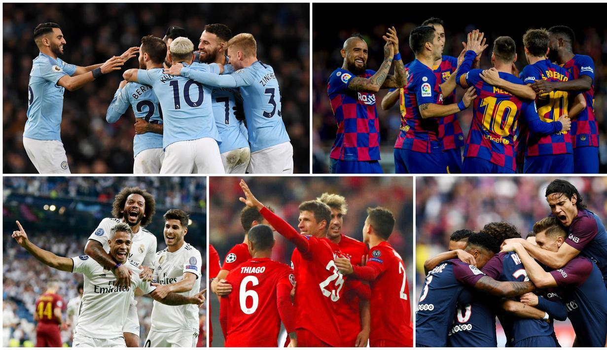 FOTO 10 Klub Dengan Skuad Termahal Di Eropa Tak Ada Klub