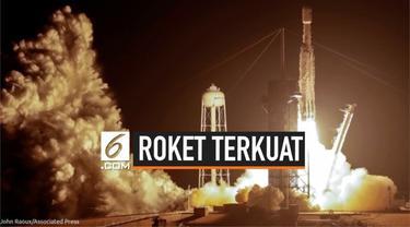 Roket Falcon Heavy milik SpaceX berhasil lepas landas hari Selasa (25/6) waktu setempat dari Kennedy Space Center NASA di Florida, Amerika Serikat. Roket membawa sekaligus 24 Satelit.
