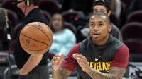Isaiah Thomas dikabarkan segera debut dengan Cleveland Cavaliers  (AP Photo/Tony Dejak, File)