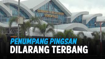 VIDEO: Ibu Hamil di Gorontalo Menangis hingga Pingsan karena Dilarang Terbang