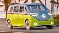 Dari segi desainnya, terlihat dengan jelas ID Buzz Concept terinspirasi dari VW 'Kombi' atau Type 2 Microbus dari tahun 1950an. (ist)