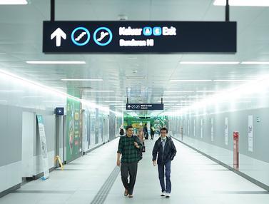 MRT Kembali Beroperasi Penuh Pasca Aksi 22 Mei di Bawaslu