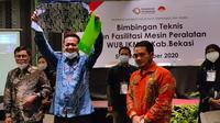 Kemenperin mendorong tumbuhnya Wirausaha Baru Industri Kecil Menengah (WUB IKM) di Kabupaten Bekasi. (Foto: Istimewa)