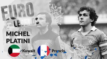 Berita motion grafis profil legenda Michel Platini, pemain pertama peraih 3 Ballon d'Or secara beruntun.