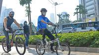 Sosialisasi Aturan Keselamatan Pesepeda dan Gerakan Peduli Kesehatan 3M