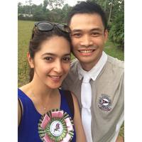 Nabila Syakieb dan Reshwara Argya Radinal. (Instagram @nsyakieb85)