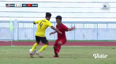 Berita video highlight Malaysia mengalahkan Vietnam 3-1 pada semifinal Piala AFF U-15 2019, Rabu (7/8/2019).