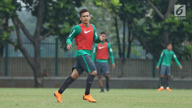 Winger muda Indonesia, Egy Maulana Vikri menunjukkan progres positif bersama Lechia Gdansk. (Liputan6.com/Helmi Fithriansyah)