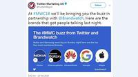 Nokia berhasil menyita banyak perhatian di acara pameran industri mobile, Mobile World Congress (MWC) 2018 (Foto: Twitter Marketing UK)