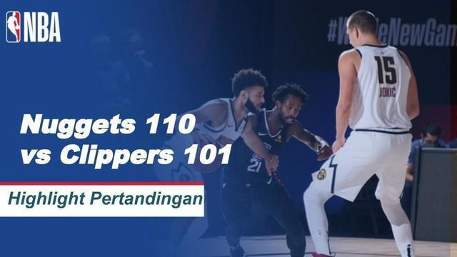 Berita Video Highlights NBA, Denver Nuggets Vs LA Clippers 110-101