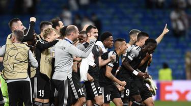 Real Madrid Dipermalukan Sheriff di Bernabeu