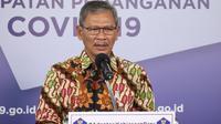 Juru Bicara Pemerintah untuk Penanganan COVID-19 Achmad Yurianto saat konferensi pers Corona di Graha BNPB, Jakarta, Jumat (26/6/2020). (Dok Badan Nasional Penanggulangan Bencana/BNPB)