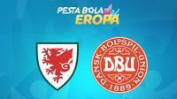 Piala Eropa - Euro 2020 Wales Vs Denmark (Bola.com/Adreanus Titus)