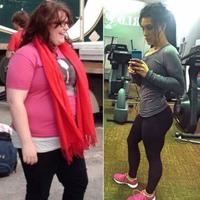 Inilah sebuah cerita transformasi seorang perempuan yang awalnya tak suka pergi ke tempat gym lantaran takut diejek karena berat badannya. (Foto: Unilad)