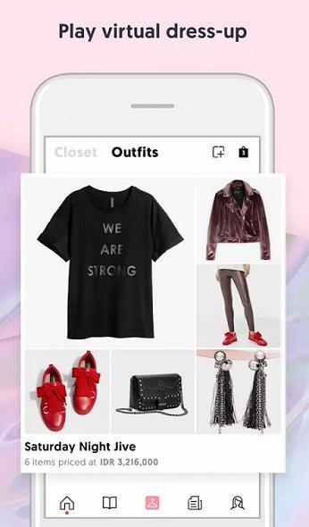 Screen shot aplikasi Yuna & Co/copyright redaksi vemale