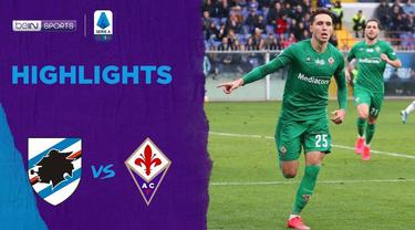 Berita Video Highlights Serie A, Sampdoria vs Fiorentina 1-5