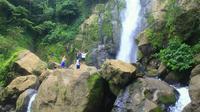 Indahnya panorama alam air terjun To Magelli di Kabupaten Barru, Sulsel (Liputa6.com/ Eka Hakim)