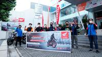 Kopdar Seru Komunitas Honda CB150R Malang (Istimewa)