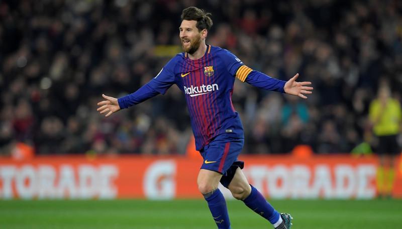 Lionel Messi (AFP/Lluis Gene)