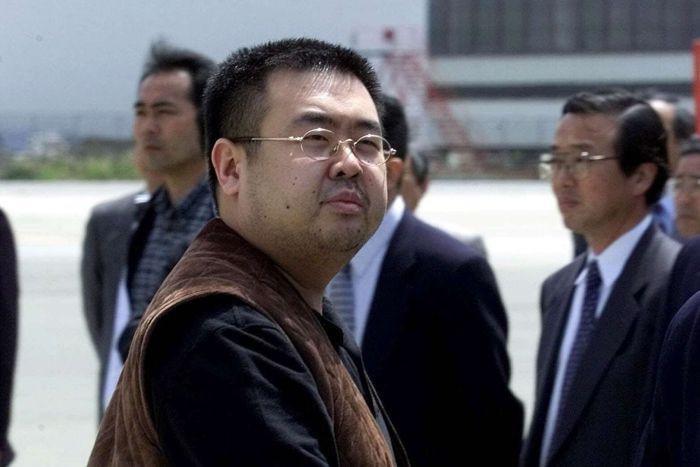 Kim Jong-nam tertangkap kamera di bandara Jepang pada 2011 (AP)