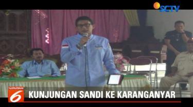 Sandi menyatakan perbedaan keyakinan dan keberagaman di Indonesia adalah wujud dari Bhinneka Tunggal Ika yang menjadi aset untuk menciptakan Indonesia yang adil dan makmur.