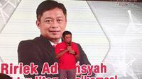 Direktur Utama Telkomsel Ririek Adriansyah. Liputan6.com/ Jeko Iqbal Reza
