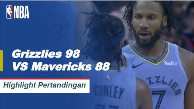 The Grizzlies menurunkan Mavericks 98-88 dan pindah ke 7-1 di kandang musim ini. Mike Conley mencetak angka tertinggi 28 poin saat dishing 7 assist dan meraih 5 rebound untuk Memphis dalam kemenangan. DeAndre Jordan membukukan 17 poin dan 20 rebound ...