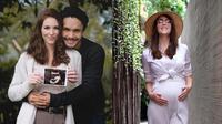 Baby bump Chelsey Frank istri Randy Pangalila (Sumber: Instagram/randpunk)