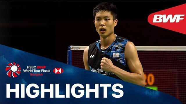 Berita video, Anthony Ginting dikalahkan wakil Chinese Taipei, Chou Tien Chen di BWF World Tour Finals 2020