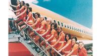 Seragam pramugari maskapai penerbangan dunia mana sajakah yang masuk ke jajaran termodis?