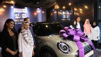 Zilingo berikan hadiah mobil Mini Cooper kepada para pemenang