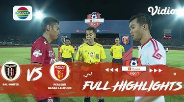 Berita video highlights Shopee Liga 1 2019 antara Bali United melawan Perseru Badak Lampung FC yang berakhir dengan skor 3-0, Selasa (22/10/2019).