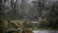 Badai Matthew menerjang pantai barat daya Haiti dengan kecepatan mencapai 230 kilometer per jam (Reuters).