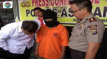 Seorang ibu, pelaku yang menganiaya anak kandungnya di Sei Mati Asahan, Sumatra Utara, akhirnya ditangkap polisi. Pelaku mengaku kesal lantaran sang suami tidak pulang-pulang.