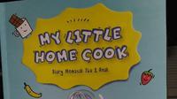 Putri Habibie meluncurkan buku masak perdana, My Little Home Cook, yang ditargetkan untuk para ibu dan anak. (Liputan6.com/Dinny Mutiah)