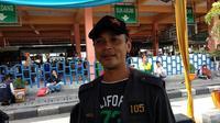 Kepala Terminal Kampung Rambutan Emiral August Dwinanto. ©2018 Merdeka.com/Ahda Bayhaqi