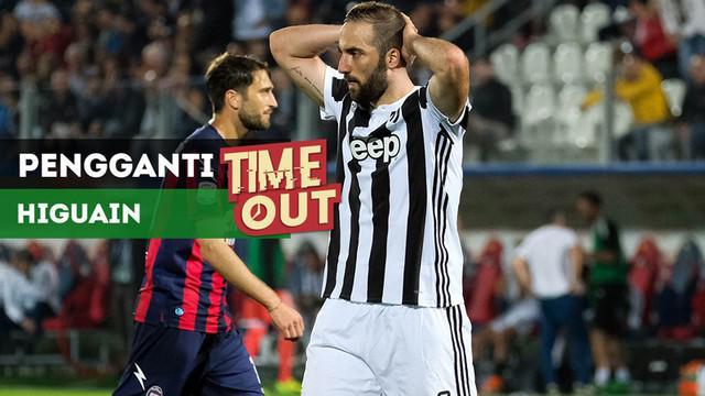 Berita video Time Out kali ini tentang dua pemain calon pengganti Gonzalo Higuain, yang akan dilepas Juventus.