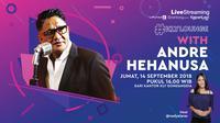 Andre Hehanusa adalah penyanyi legendaris dan komposer hit maker