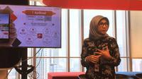 Tuty R Afriza, VP Digital Experience & Business Insights Telkomsel. Liputan6.com/Andina Librianty