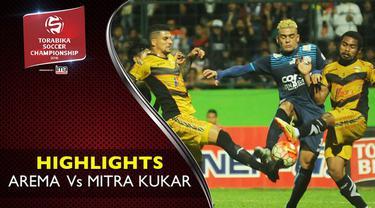 Video highlights TSC 2016 antara Arema Cronus vs Mitra Kukar yang berakhir dengan skor 0-0 di Stadion Gajayana, Malang.