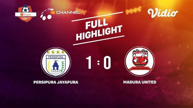 Berita video highlights Shopee Liga 1 2019 antara Persipura Jayapura melawan Madura United yang berakhir dengan skor 1-0, Selasa (16/7/2019).