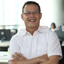 Calon Gubernur Sumatera Selatan Aswari Rivai. (Liputan6.com/Fatkhur Rozaq)