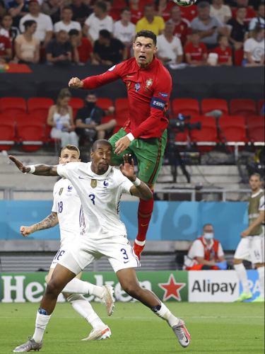 FOTO: Bermain Imbang, Portugal dan Prancis Melenggang ke 16 Besar Euro 2020
