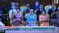 Iriana Joko Widodo, Mufidah Kalla, dan Megawati Soekarno Putri Tmapil Kompak dalam Balutan Kebaya Bernuansa Pastel.