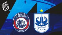 BRI Liga 1 - Arema FC Vs PSIS Semarang (Bola.com/Adreanus Titus)